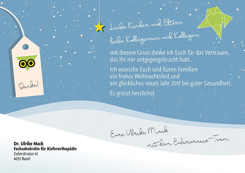 Weihnachtsgrüße Team.Weihnachtsgrüsse Aus Der Eulerpraxis 2016